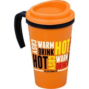 Americano Travel mug - corporate mug - mck promotions