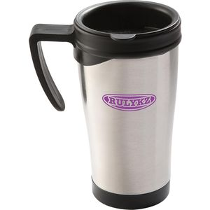 travel metal mug - mck promotions