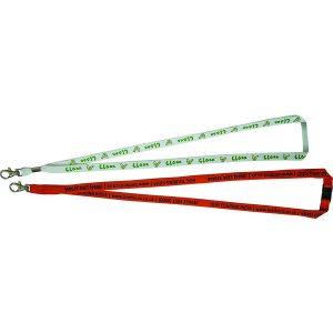 12mm tubular bootlace lanyard- mck promotions