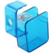 square plastic pencil sharpeners - mck promotions