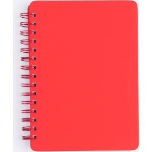 A5 Spiral notebook (red)- mck promotions