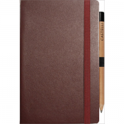 Medium ivory notebook ruled paper- mck promotions