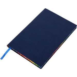 Rainbow notebook (blue)- mck promotions