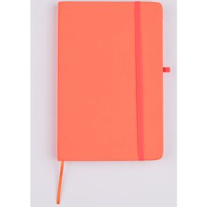 mini neon notebook (orange)- mck promotions