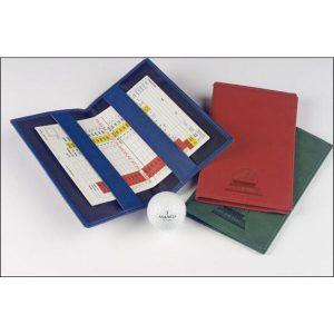 Hampton leather golf scorecard holder- mck promotions