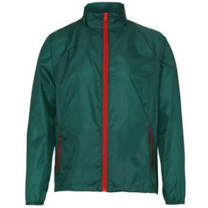 Contrast lightweight jacket (green)- mck promotions