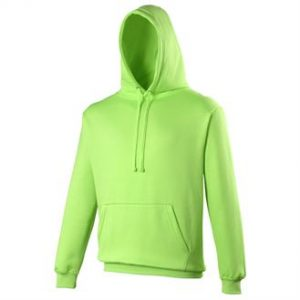 Electric hoodie (green)- mck promotions
