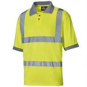 Hi-vis polo shirt-- mck promotions