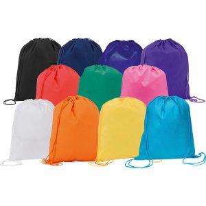 Rainham drawstring bag- mck promotions