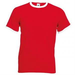 Ringer tee (red)-mck promotions