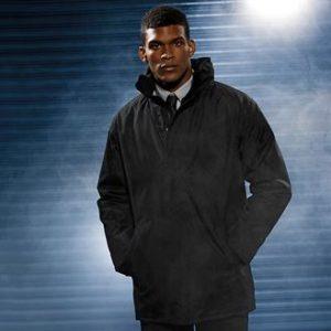 parka jacket (black)- mck promotions