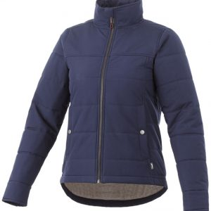 Bouncer insulated ladies jacket, navy - MCK Promotions