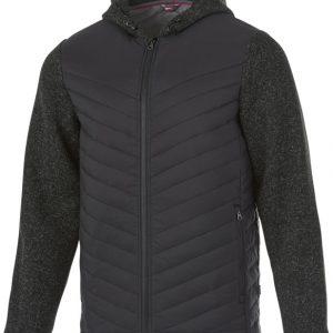 Hutch insulated hybrid jacket, heather smoke- MCK Promotions