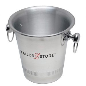 Aluminium Wine Bucket with Ring Handles (3.25 litre)- MCK Promotions