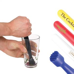 Coloured Plastic Muddler (8inch)- MCK Promotions