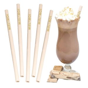 Edible Chocolate Flavoured Straws- MCK Promotions
