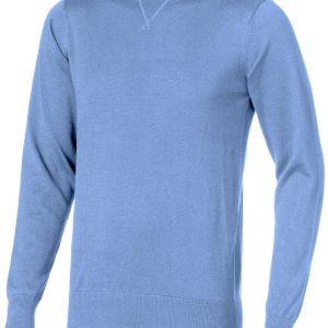 Fernie crewneck Pullover, light blue- MCK Promotions