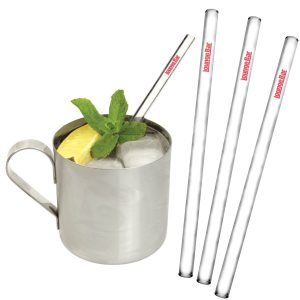 Glass Drinking Straws- MCK Promotions