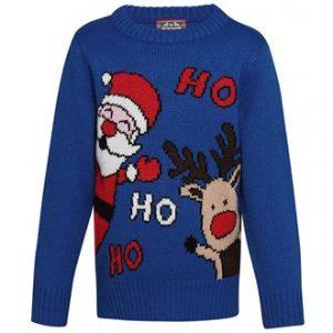 Kids Ho Ho Ho Christmas jumper - MCK Promotions
