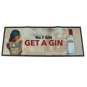 Large Bordered Bar Runner (90x24cm)- MCK Promotions