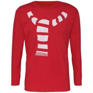 Men's scarf long sleeve tee - MCK Promotions