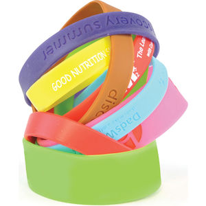 custom branded wrist bands