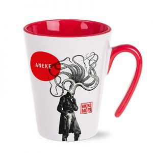 RED Porcelain Mug - Open - McK Promotions