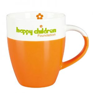 Two Colour Mug - Mck Promotions Black