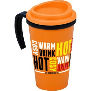 Americano Travel mug - corporate mug - mck promotions
