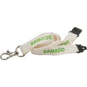 15mm bamboo lanyard - mck promotions