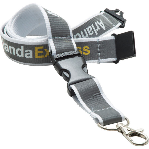 15mm reflective lanyard - mck promotions