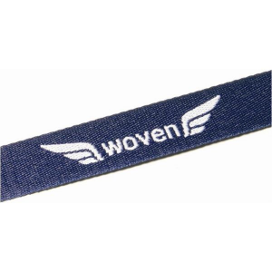 15mm woven lanyard (2 layer, 1 colour, 1 side)- mck promotions