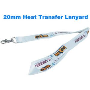 20mm Full colour (dye sublimation) lanyards- mck promotions