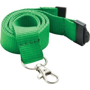Flat polyester lanyard- mck promotions