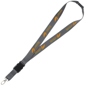 lanyard safety (grey)- mck promotions