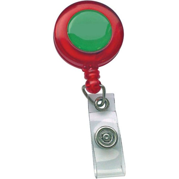 plastic pull reels- (red) mck promotions