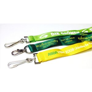 2cm Pantone matched earth friendly lanyards- mck promotions