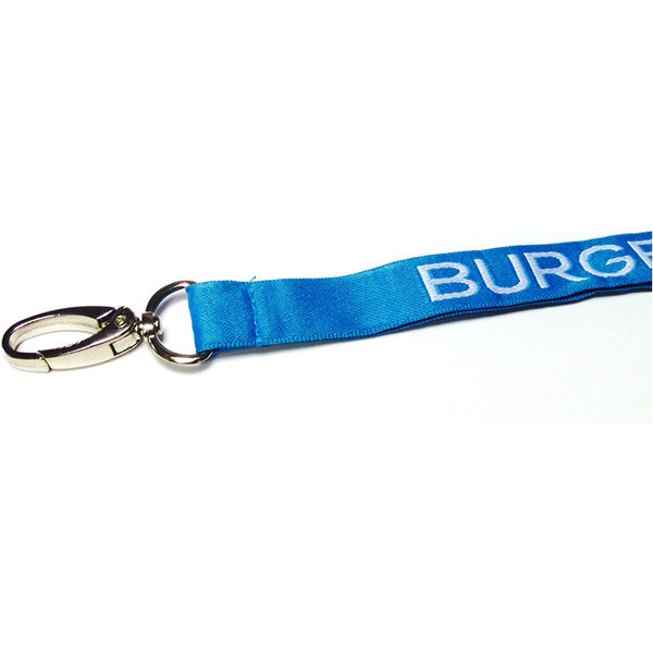 2cm executive woven lanyards- mck promotions