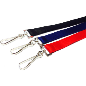 2cm plain stock lanyards