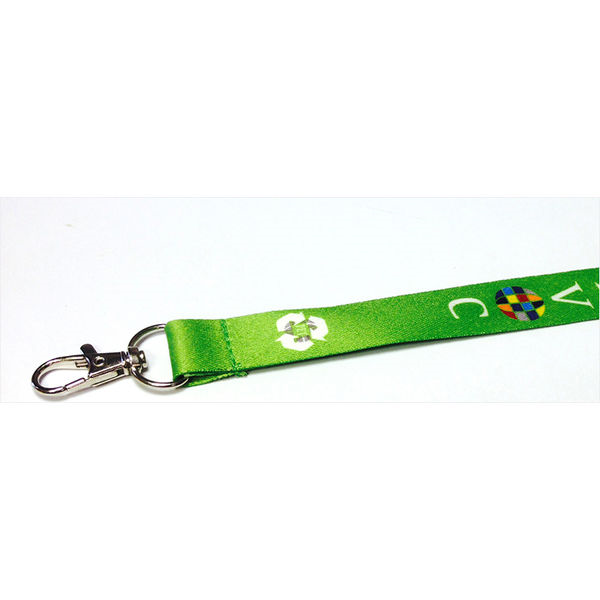 2cm recycled pet dye sublimation lanyards- mck promotions