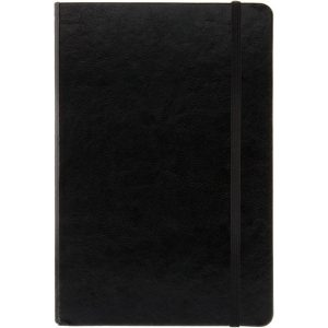 A5 Notebook (black)- mck promotions