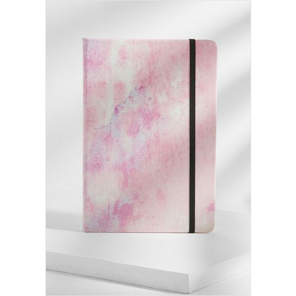 A5 Printed notebook (pink)- mck promotions