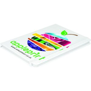 Arundel A5 Notebook (white)- mck promotions
