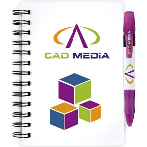 BIC Notebooks plastic cover small- mck promotions
