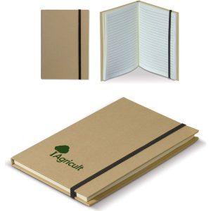 Cardboard notebook A5- mck promotions