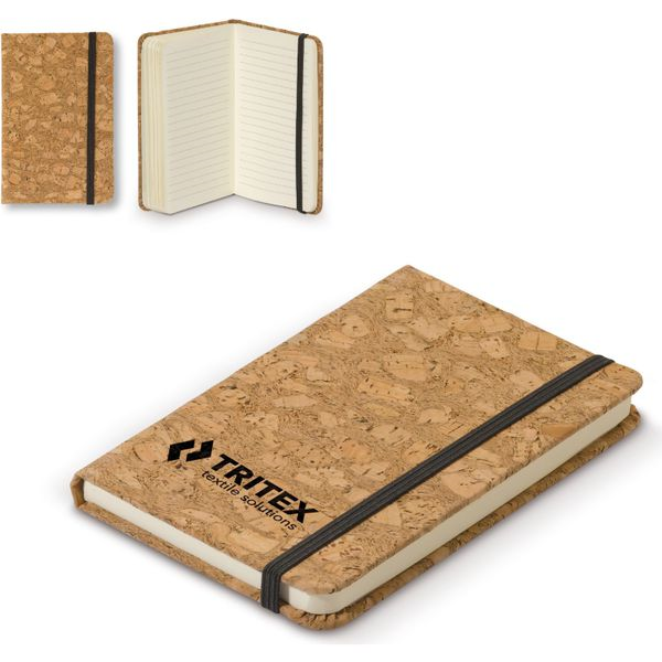 Cork Notebook A6- mck promotions