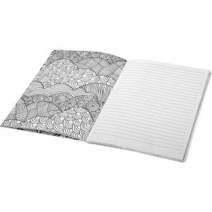 Doodle Colour Therapy notebook- mck promotions