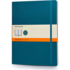 Extra large Moleskine notebook softcover (blue)- mck promotions
