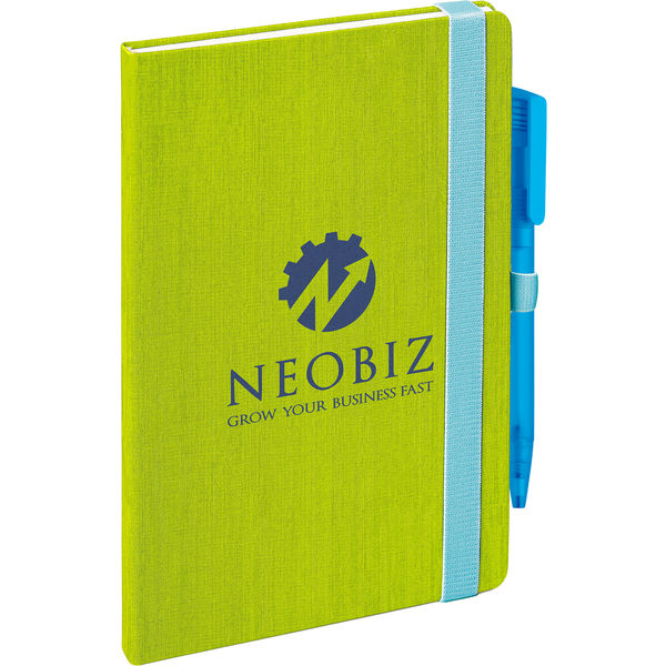 Fabrika notebook (green)- mck promotions