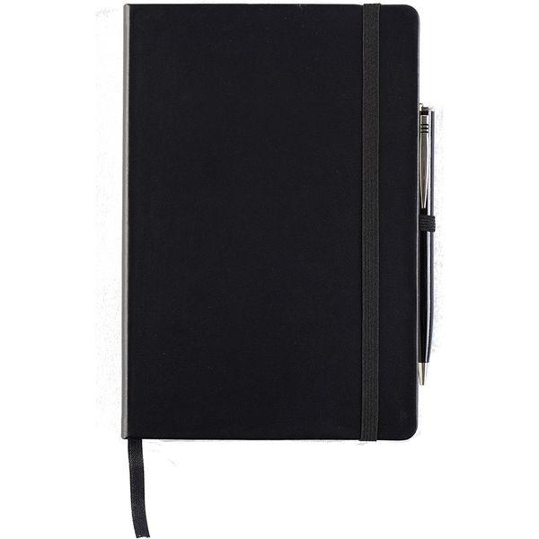 Houghton A5 Notebook with pen in giftbox- mck promotions